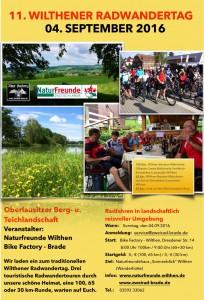 Radwandertag Plakat f. 2016